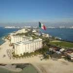 Helicopter surveillance in Cancun on asset recovery locate